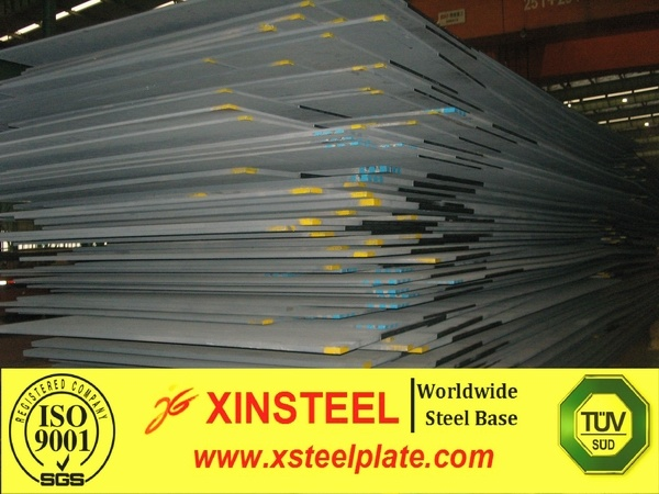 Low alloy steel plate